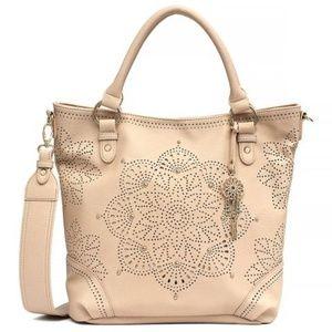 Jessica Simpson Sunny Shoulder Bag in Blush